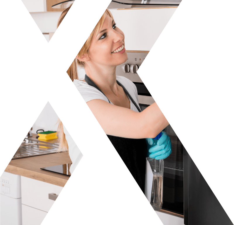 header image lady cleaning